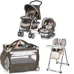 chicco endless kit matching stroller system high chair and play yard combo endless free. Black Bedroom Furniture Sets. Home Design Ideas