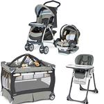 Chicco Sedona Kit Stroller System, High Chair and Play Yard Combo