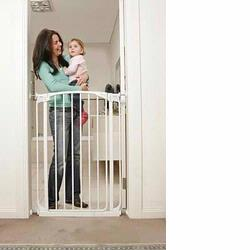 DreamBaby L788W Extra Tall Value Pack - 2 Gates & 2 Extensions, White