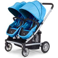 Valco Baby SPT0908 Spark Duo Twin Stroller - Marine