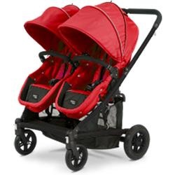 Valco Baby SPT0960 Spark Duo Twin Stroller - Strawberry