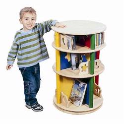 Guidecraft 98040 Moon & Stars Media Storage Carousel