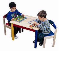 Guidecraft G98041 Moon & Stars Table & Chair Set