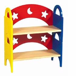 Guidecraft G98043 Moon & Stars Stacking Book Shelf