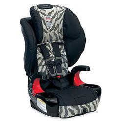 Britax E9LH33P Frontier 90 Combination Harness-2-Booster Seat - Zebra