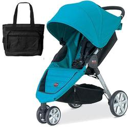 Britax U341825 - B-Agile Stroller  - Peacock with Diaper Bag