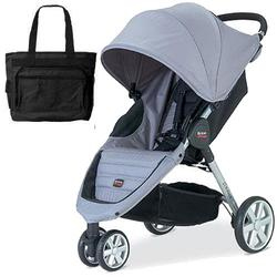 Britax U341828 - B-Agile Stroller  - Granite with Diaper Bag