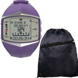 Polar FT60 Heart Rate Monitor 90047370 , Female Lilac with FREE Cinch Bag