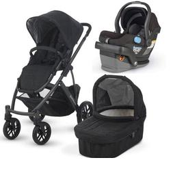 UPPAbaby VISTA-MESA Travel System - Jake  Black