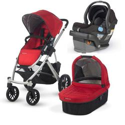 UPPAbaby VISTA-MESA Travel System - Denny Black