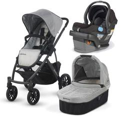 UPPAbaby VISTA-MESA Travel System - Mica Black