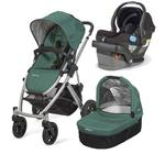 UPPAbaby VISTA-MESA Travel System - Jade Black