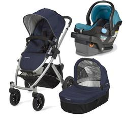 UPPAbaby VISTA-MESA Travel System - Indigo Black