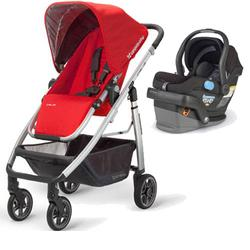 UPPAbaby CRUZ-MESA Travel System - Denny Black