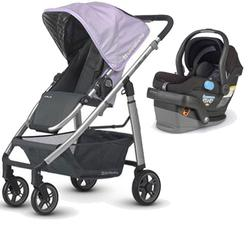 UPPAbaby CRUZ-MESA Travel System - Maeve Black