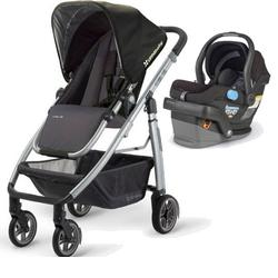 UPPAbaby CRUZ-MESA Travel System - Jake Black