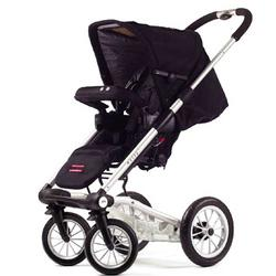 Mutsy 4Rider Light Single Strollers, Cargo Black