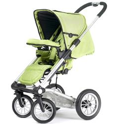 Mutsy 4Rider Light Stroller - Team Lime