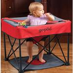 KidCo P7003, Go-Pod Portable Activity Seat - Cardinal