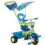 Smart Trike Fresh 3 in 1 Tricycle Ride-on Stroller - Blue Green