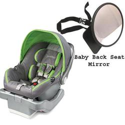 Summer Infant Prodigy® Infant Car Seat w/Back Seat Mirror  - Mod