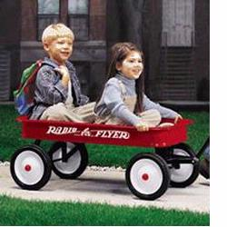 Radio Flyer 18 Classic Red Wagon