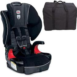 Britax E9LH31A Frontier 90 Combination Harness-2-Booster Seat - Onyx with a car seat Travel Bag
