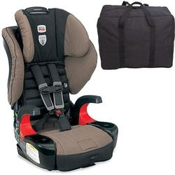 Britax E9LH34M Frontier 90 Combination Harness-2-Booster Seat - Desert Palm  with a car seat Travel Bag