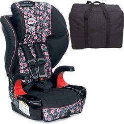 Britax E9LH34N Frontier 90 Combination Harness-2-Booster Seat - Cactus Flower with a car seat Travel Bag