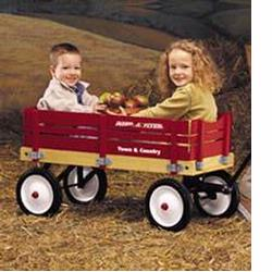 Radio Flyer 24 Town & Country Wagon