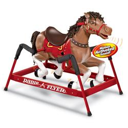 Radio Flyer 301 Liberty Spring Horse with Sound