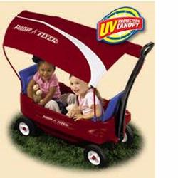 Radio Flyer 2800 Voyager Canopy Wagon