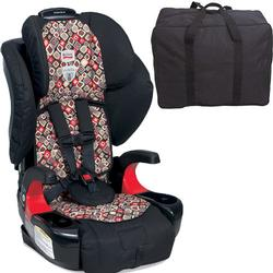 Britax  E9LH43WKT Pioneer 70 Harness-2-Booster Car Seat - Redwood with Carrying Case