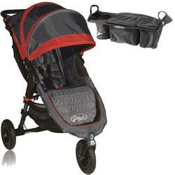 Baby Jogger BJ15236  City Mini GT Single With Parent Console - Shadow/Crimson