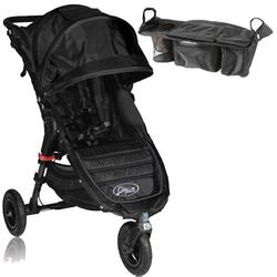Baby Jogger BJ15310  City Mini GT Single With Parent Console - Black/Black