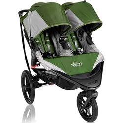 Baby Jogger BJ32340 Summit X3 Double Jogging Stroller - Green Gray
