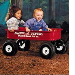 Radio Flyer 1800 Big Red Classic ATW Wagon