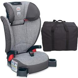 Britax - Parkway SG - Belt Positioning Booster Seat with a car seat Travel Bag  - Gridline