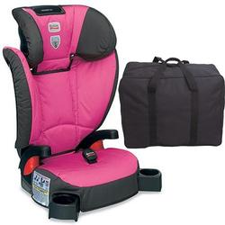 Britax E9LM24W Parkway SG - Belt Positioning Booster Seat with a car seat Travel Bag - Confetti