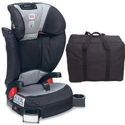 Britax - Parkway SGL - Booster Seat - with a car seat Travel Bag Phantom