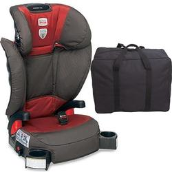 Britax - Parkway SGL - Booster Seat  with a car seat Travel Bag Tango