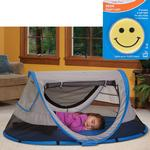 KidCo P4011 PeaPod Plus Portable Travel Bed - Twilight  with Happy Face Night Light