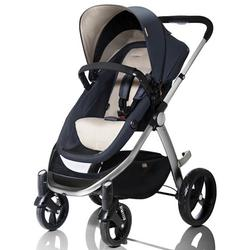 Mountain Buggy Cosmopolitan Stroller - Stone with a Diaper Bag