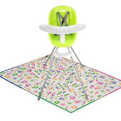 Phil & Teds Poppy High Chair - Lime with Splat Matt