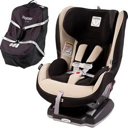 Peg Perego Primo Viaggio Convertible Car Seat Crystal Beige with Travel Bag