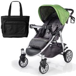 Summer Infant 21450 Spectra Stroller with Diaper Bag - Mod Green