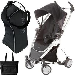 Quinny CV262RKB Zapp Xtra with diaper bag and Travel Bag- Rocking Black