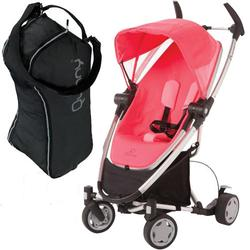 Quinny CV262BYP Zapp Xtra with Travel Bag- Pink Precious