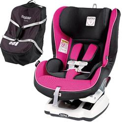Peg Perego Primo Viaggio Convertible Car Seat - Fucsia with Travel Bag