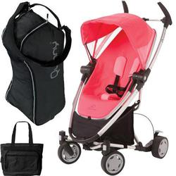 Quinny CV262BYP Zapp Xtra with diaper bag and Travel Bag- Pink Precious
